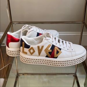 Gucci Ace Loved Platform Sneaker